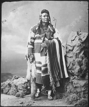 Chief Joseph, Nez Perce - NARA - 523670