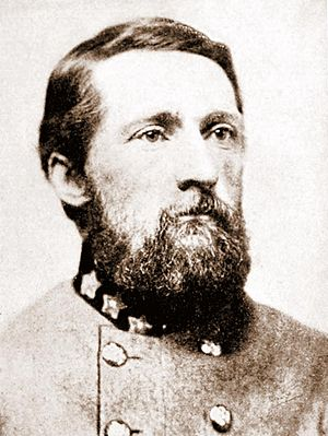 English: Confederate Cavalry Colonel John Sing...