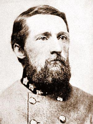 English: Confederate Cavalry Colonel John Sing...
