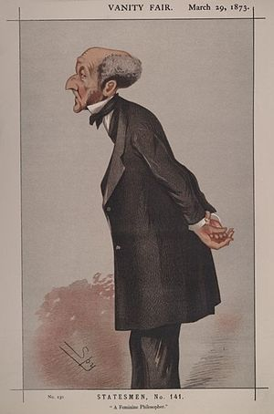 Statesmen No.141: Caricature of Mr John Stuart...
