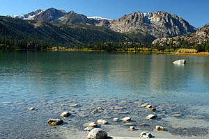 June Lake is a small town south of Lee Vining,...