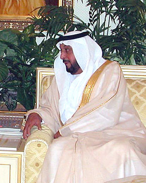 Khalifa bin Zayed Al Nahayan, Ruler of Abu Dha...