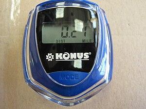 digital counterstep Konus Zippy Sun