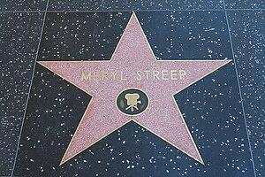Italiano: Stella di Meryl Streep sulla Hollywo...