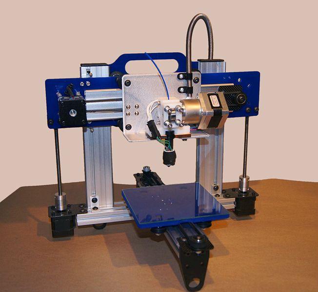 Picture of the ORDbot Quantum 3D printer
