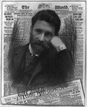 Joseph Pulitzer, Wikimedia Commons