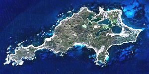 This is a map of the Rottnest Island, Western ...