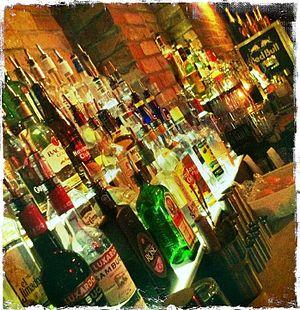 English: Whisky Bar