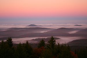Spruce Knob Morning Sky. The highest point in ...