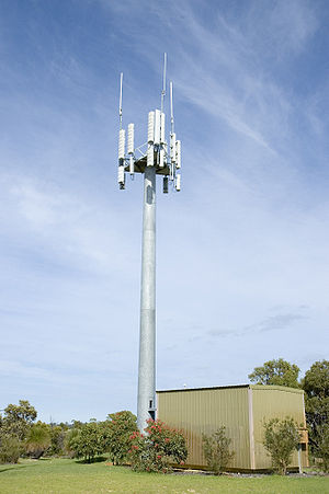 Telstra mobile phone Base station - Wireless H...