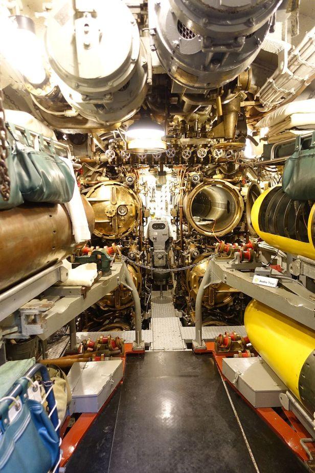 USS COD - Forward Torpedo Room