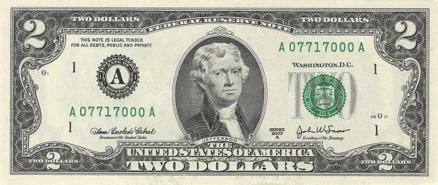 Image result for thomas jefferson money