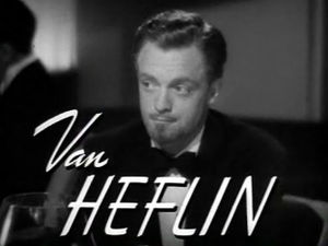 Screenshot of Van Heflin from the trailer for ...