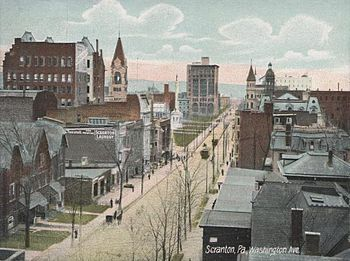 Washington Avenue, Scranton, Pennsylvania, Uni...