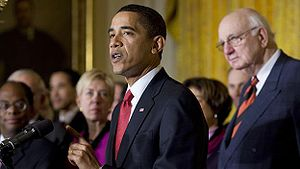 President Barack Obama announces the Economic ...