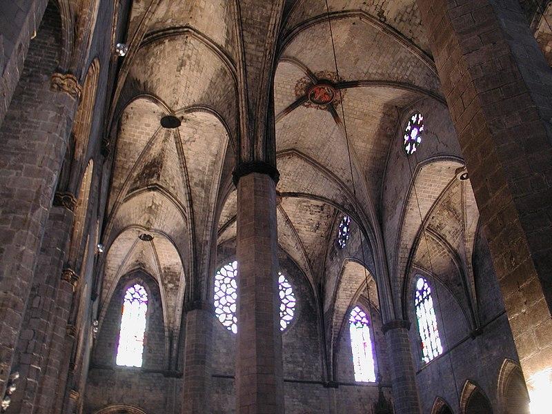 File:Barcelona santa maria del mar 1.jpg