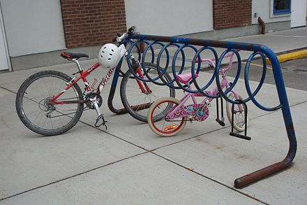 bicycle parking rack wikiwand