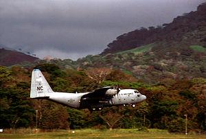 A U.S. Air Force Lockheed C-130H Hercules (s/n...