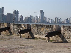 English: A view of Cartagena de Indias in Colo...