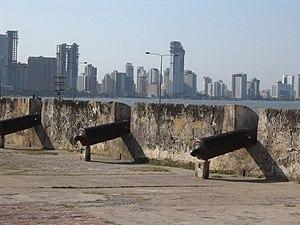 English: A view of Cartagena de Indias in Colo...