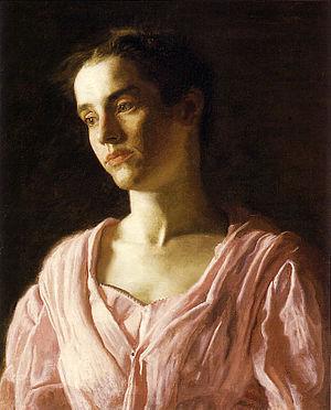 Thomas Eakins. Portrait of Maud Cook, 1895. Oi...