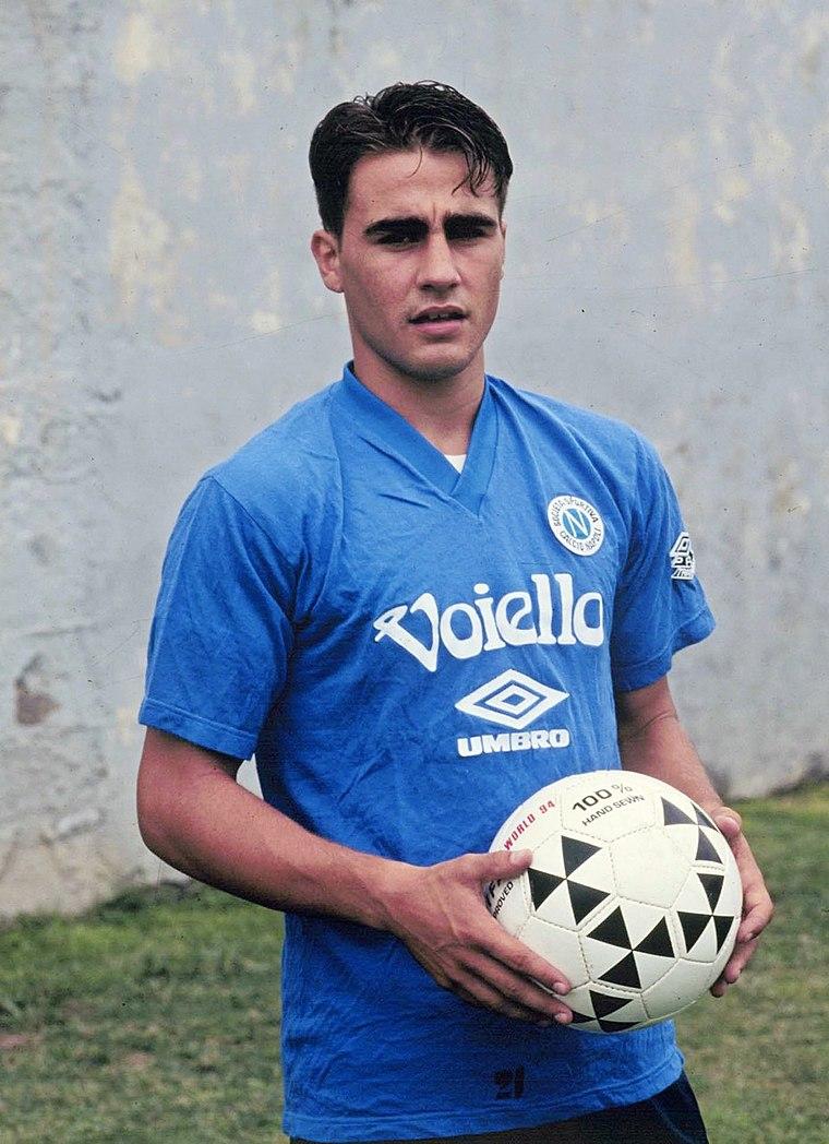 Fabio Cannavaro Napoli 1990