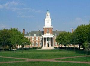 English: Gilman Hall, Johns Hopkins University...