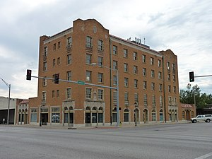 English: Vinita Hotel, in Vinita, Oklahoma