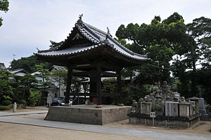 English: Belfry, Ichinomiya-ji 日本語: 一宮寺 鐘楼