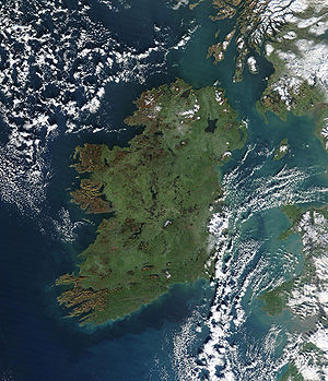 "Ireland is sometimes known as the ""Emeral..."