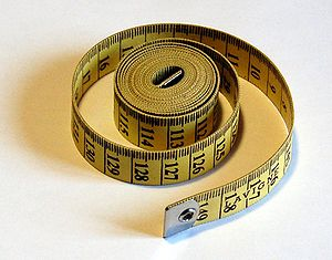 English: tape measure Français : Metre de cout...