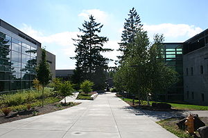 The entrance to PCC