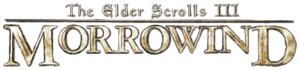 English: The text logo of The Elder Scrolls II...