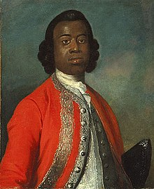 Retrato del William Ansah Sessarakoo pintado en 1749, óleo por Gabriel Mathias.