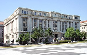 John A. Wilson Building on Pennsylvania Avenue...