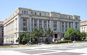 John A. Wilson Building on Pennsylvania Avenue...