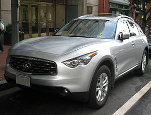 2009 Infiniti FX35 photographed in Washington,...