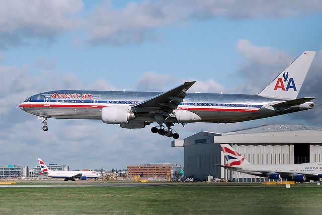 AA: Seat coming loose on its fleet of Boeing 757 jets.  Photo: Wikipedia