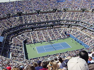 I took this picture at the 2005 US Open.