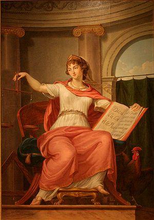 Bernard d'Agesci (1757-1828), La justice, musé...