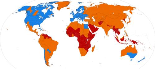 Mapa Cambio Horario