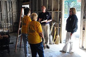 Austell, GA, September 30, 2009 -- FEMA Commun...