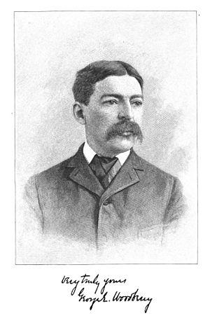 English: George Edward Woodberry, Litt. D., LL...