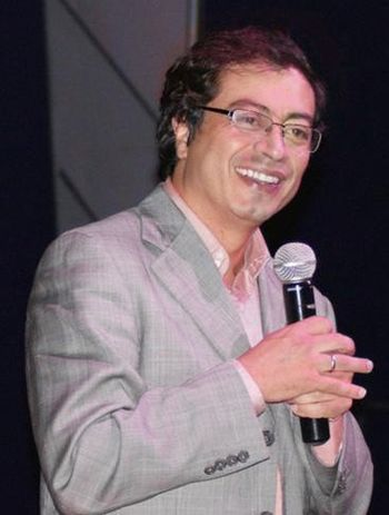 Español: Gustavo Francisco Petro Urrego, polít...