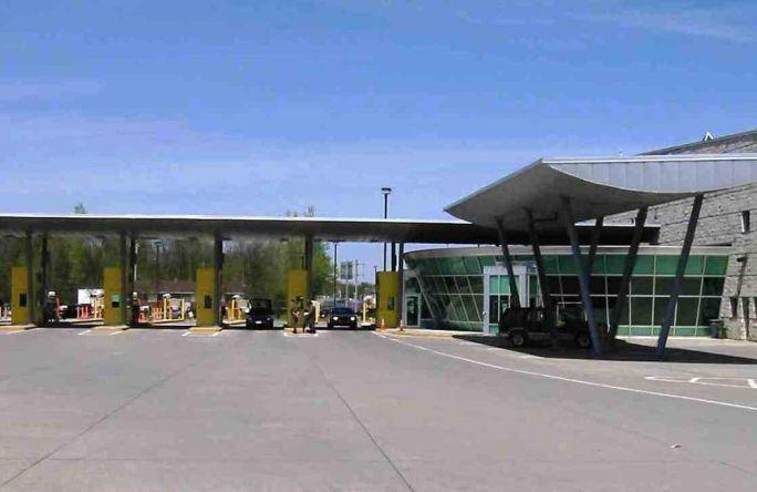 Highgate Springs border station