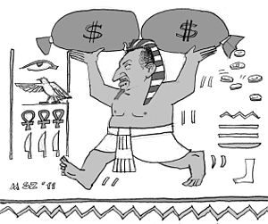 """Deutsch: Karikatur, """"Die Presse"""", &q..."""