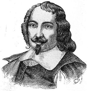 Traditional representation of Samuel de Champlain