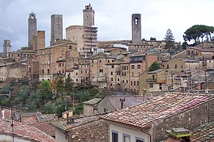 San Gimignano, perhaps the most popular of Ita...