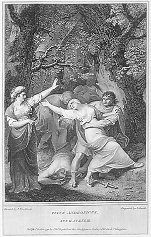 Titus Andronicus: Act II, Scene 3: Tamora's cr...