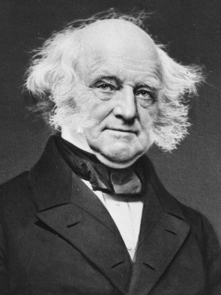 Martin Van Buren - party animal.
